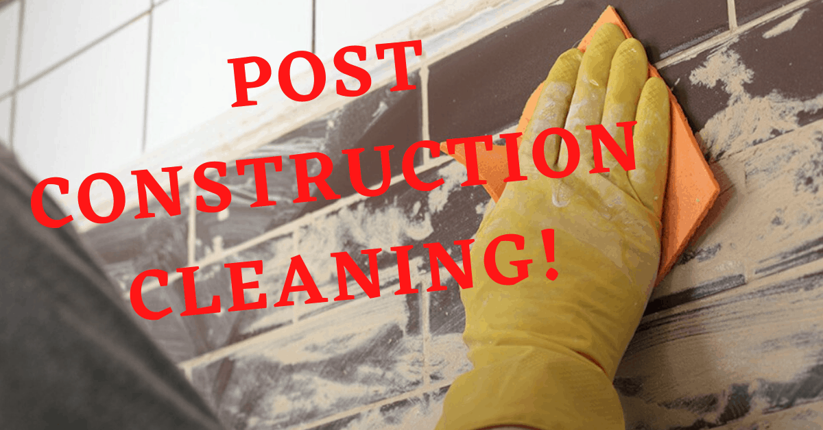 post construction cleaning Atl