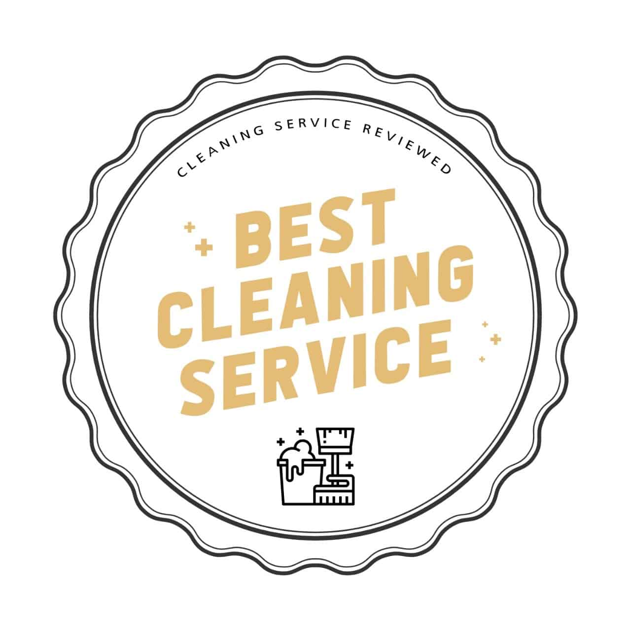 Atlanta best cleaning service badge